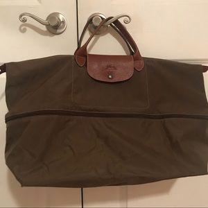 Longchamp Bags - Longchamp Le Pliage Expandable Nylon Travel Bag